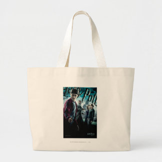 Harry Potter With Dumbledore Ron and Hermione 1 Jumbo Tote Bag