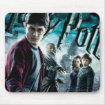 Harry Potter With Dumbledore Ron and Hermione 1 Mouse Pad