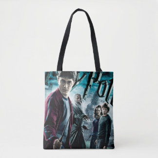 Harry Potter With Dumbledore Ron and Hermione 1 Tote Bag