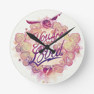 Harry Potter | You Are So Loved Round Clock