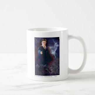 Harry Potter's Stag Patronus Basic White Mug