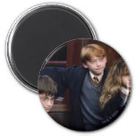 Harry, Ron, and Hermione 6 Cm Round Magnet