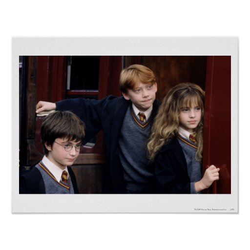 Harry, Ron, and Hermione Posters