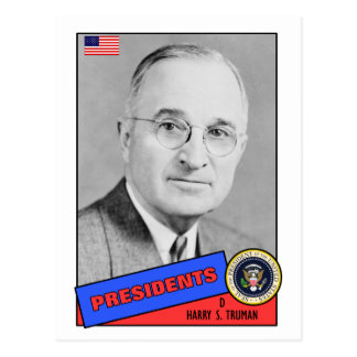 Harry S. Truman Baseball Card