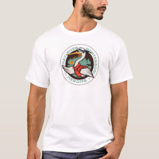 Harry The Heron Men's T Shirt