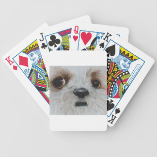 Harry the Shih Tzu Bicycle Playing Cards