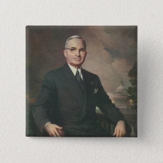 Harry Truman 15 Cm Square Badge