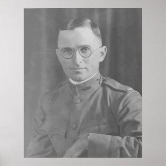 Harry Truman During World War 1 -- Border Poster