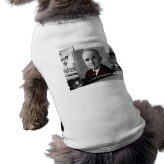 "Harry Truman ""Never Gave Hell"" Wisdom Quote Gifts Sleeveless Dog Shirt"