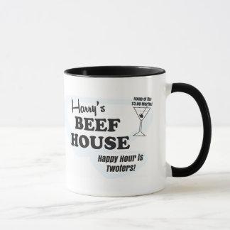 Harry's Beef House coffee mug