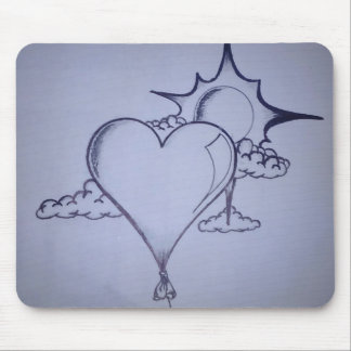 HART AND SUN MOUSE PAD