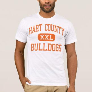Hart County - Bulldogs - High - Hartwell Georgia T-Shirt