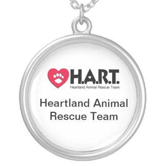 HART Logo Round Pendant Necklace