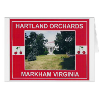 HART ORCHARDS 2 CARD