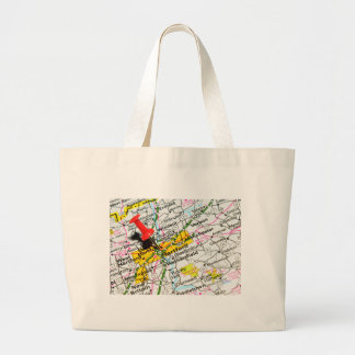 Hartford, Connecticut Large Tote Bag