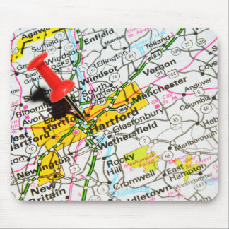 Hartford, Connecticut Mouse Pad