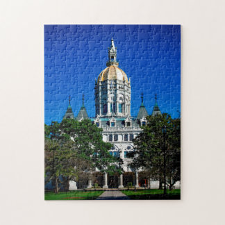 Hartford Connecticut State Capitol. Jigsaw Puzzle
