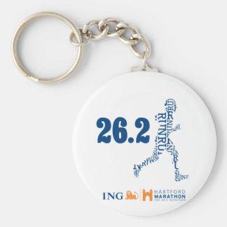 Hartford Marathon: 26.2 Key Chains