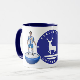 Hartlepool United 2017/18 - Blue Logo Mug