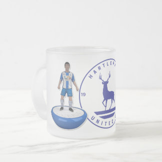 Hartlepool United 2017/18 Mug - White Logo