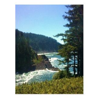 Hart's Cove, Oregon Coast Postcard