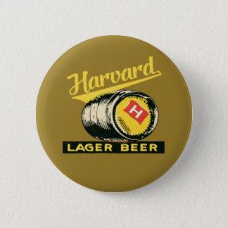 Harvard Lager Beer 6 Cm Round Badge