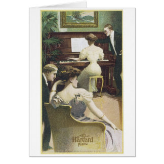Harvard Piano Greeting Card