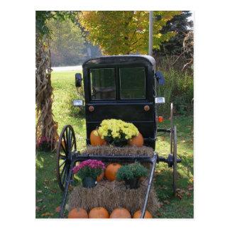 Harvest Buggy Postcard