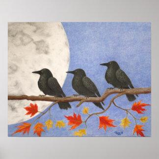 Harvest Crows Print