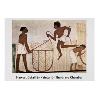 Harvest Detail By Painter Of The Grave Chamber Posters
