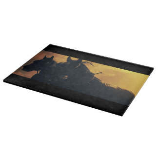 Harvest Drive Draft Horse Cutting Board