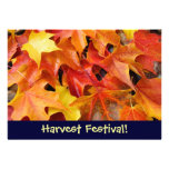 Harvest Festival! Invitations Event Announcements