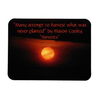 Harvest Full Moon Magnet