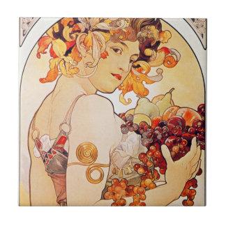Harvest Goddess Ceramic Tile