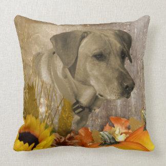 Harvest Labrador Retriever Cushion