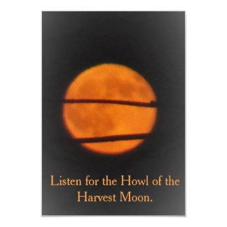 Harvest Moon - Prairie Mile - invitation