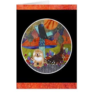 HARVEST MOONDANCE chow Card