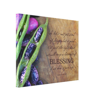 "Harvest Of Blessing 14x11"" Canvas"