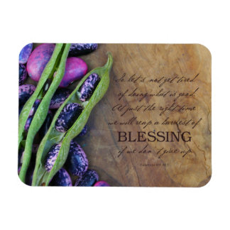 Harvest Of Blessing Magnet 4x3""