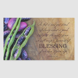Harvest Of Blessing Sticker 4.5x2.7""