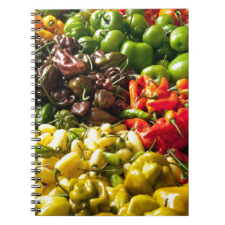 Harvest of Chilies Notebooks
