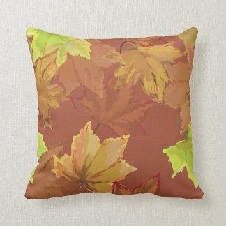 Harvest Series Autumn Leaves Cushion