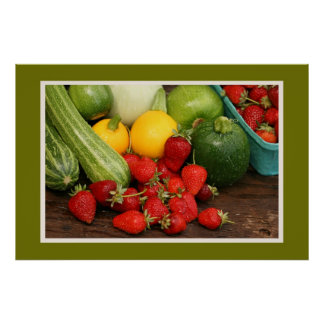 Harvest Summer Vegetables Print