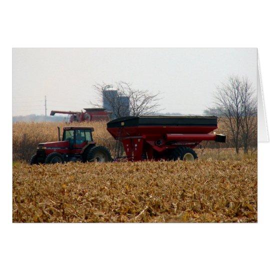 Harvest the Corn Card