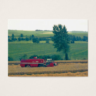 Harvesting (1980s 35mm Colorslide)