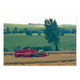 Harvesting (1980s 35mm Colorslide) Pack Of Chubby Business Cards