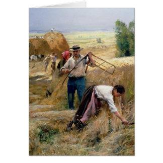 Harvesting Card
