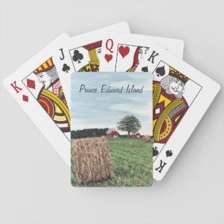 Harvesting Hay Bales Playing Cards