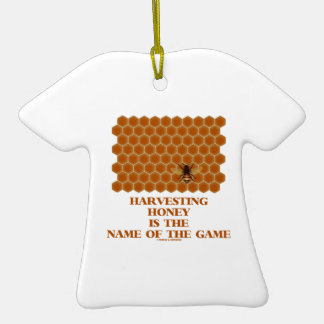 Harvesting Honey Is The Name Of The Game Christmas Ornaments