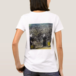 Harvesting Silk in Old Japan Vintage Japanese Farm T-Shirt